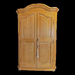 Armadio in Abete color legno con 2 porte Mobili Bernardi Jari