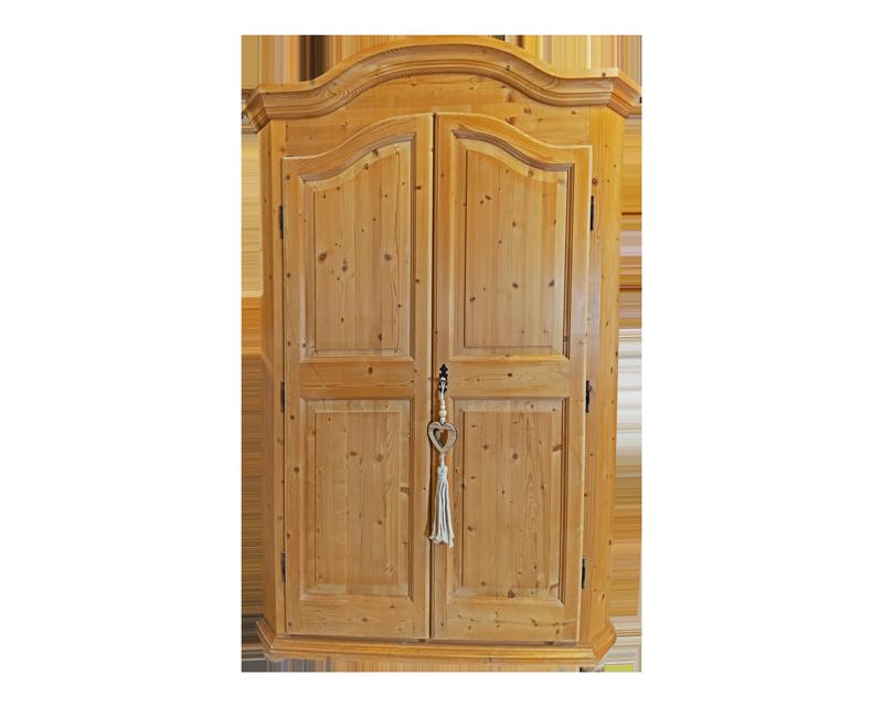 Armadio in Abete color legno con 2 porte - Mobili Bernardi ...