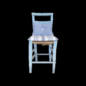 Sedia Antica Azzurro Ortensia Mobili Bernardi Jari