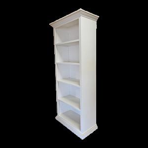 Libreria laccata bianca Mobili Bernardi Jari